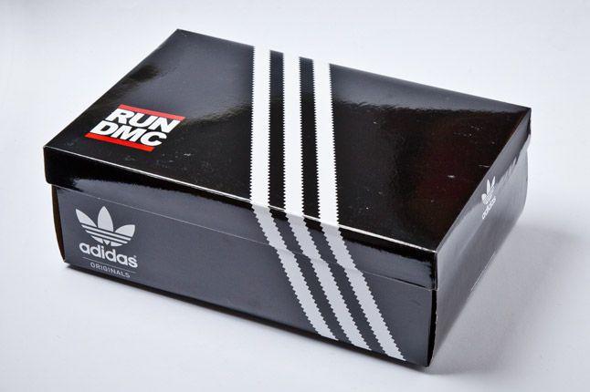 Adidas Run Dmc Superstar 80S Box