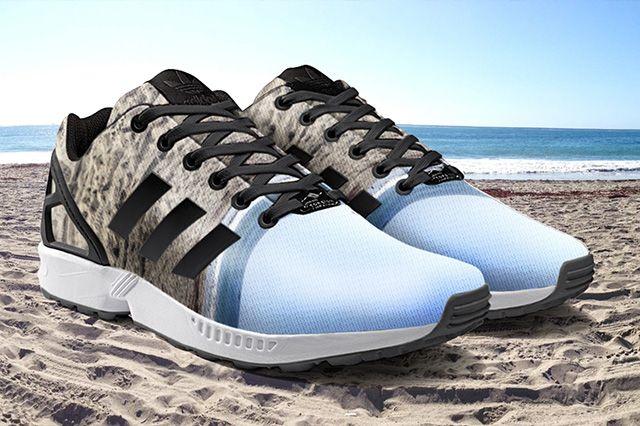 Zx Flux Set To Hit Mi Adidas With Photo Print Option 1