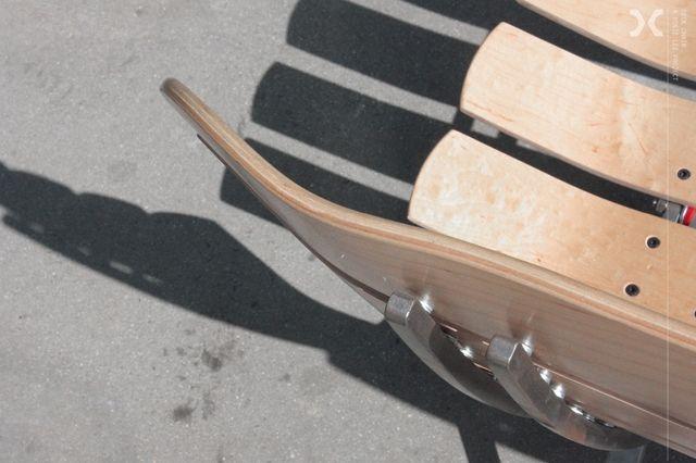 Skateboard Deck Chair 3