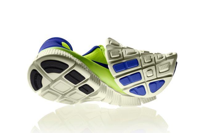 Nike Free 5 0 Volt Blue Twisted 1