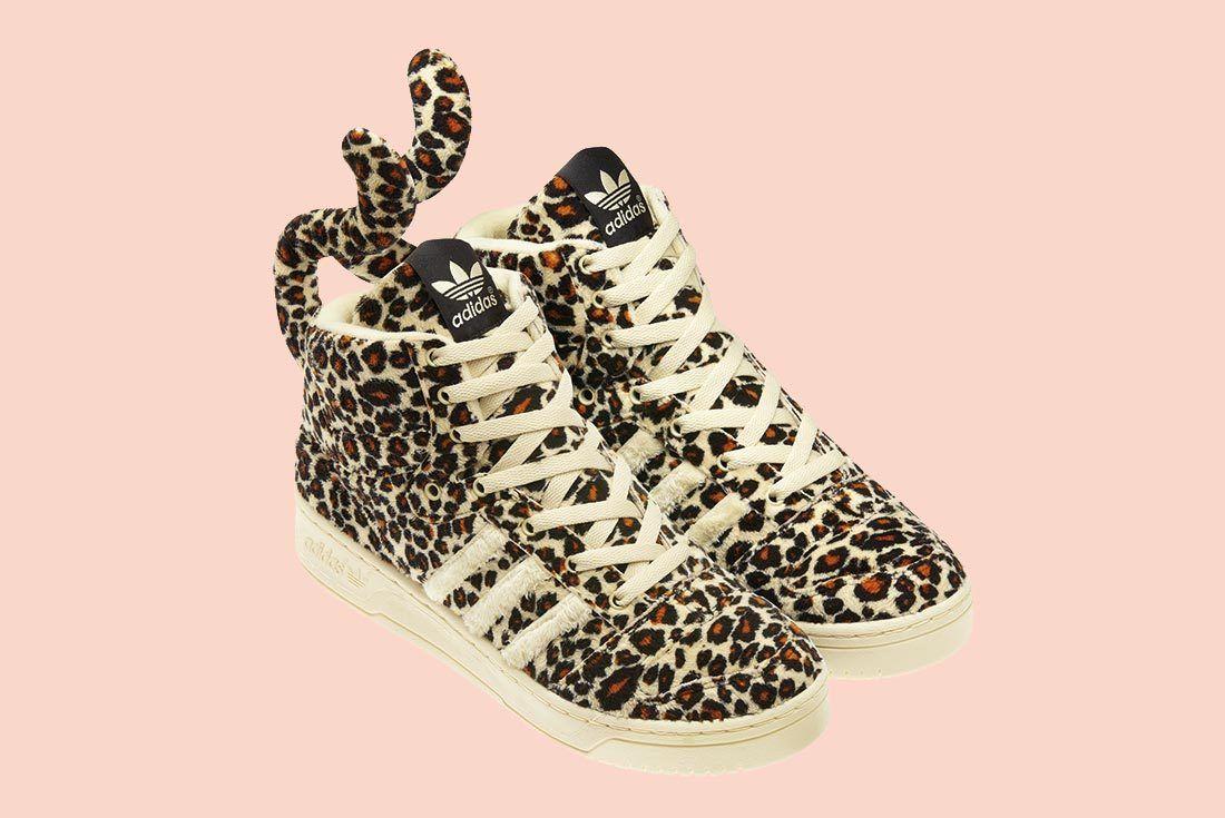 Adidas Jeremey Scott Leopard