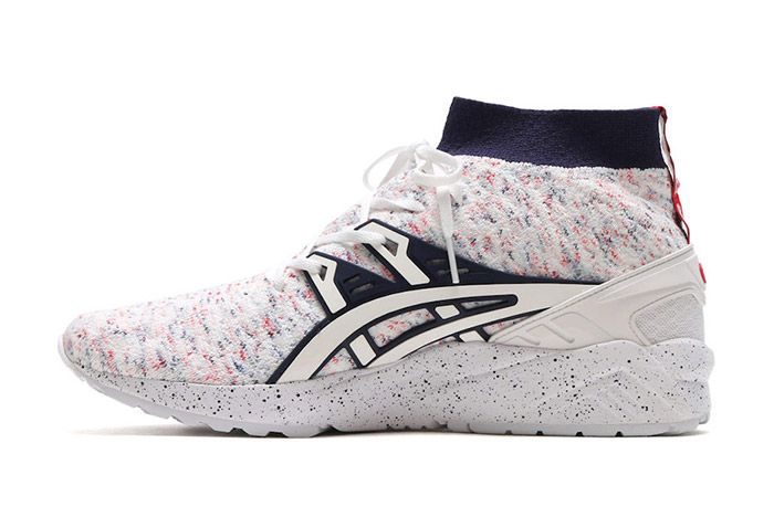 Asics Gel Kayano Trainer Knit Mt White Speckle 4
