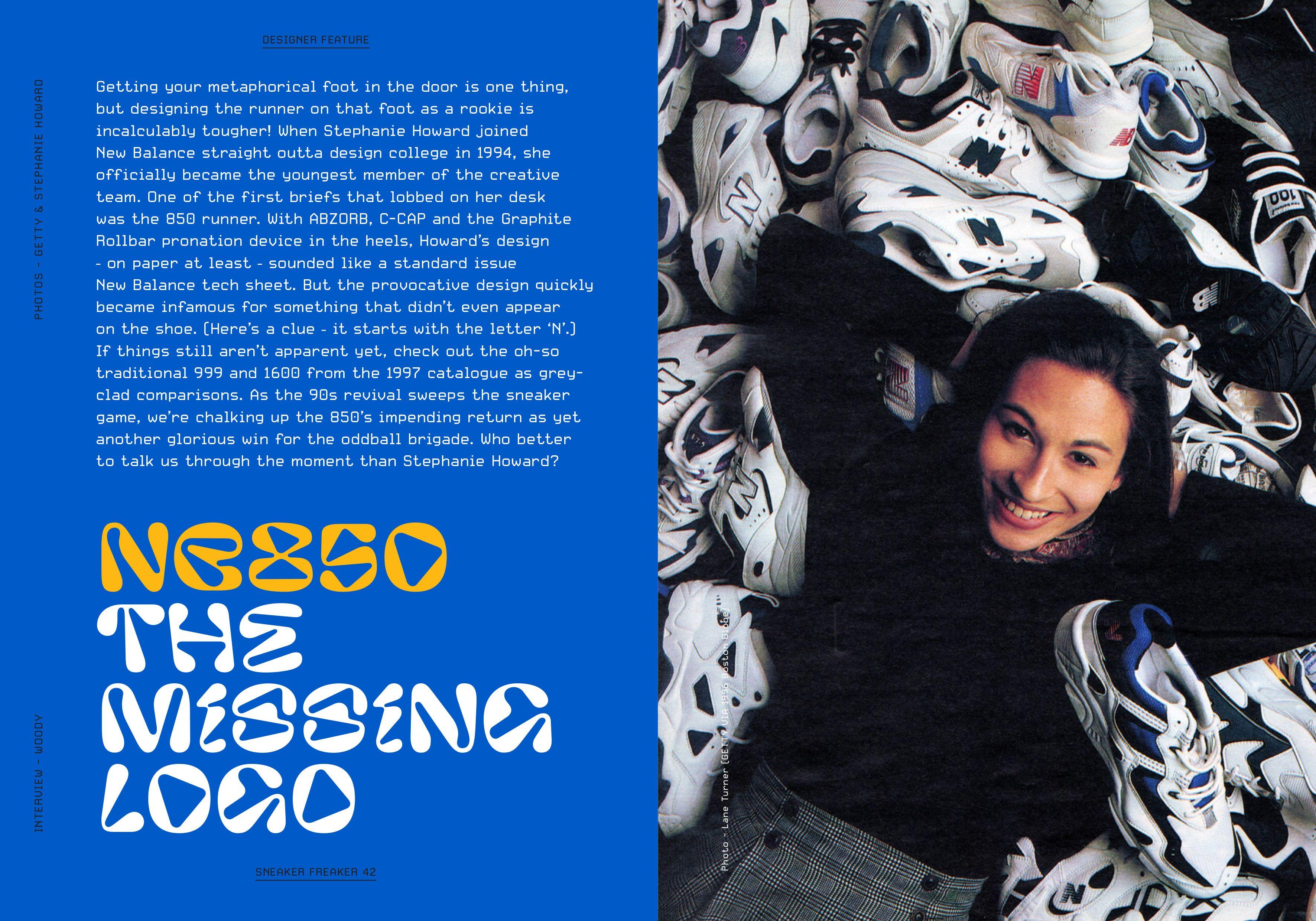 Sneaker Freaker Magazine Issue 42 Stephanie Howard
