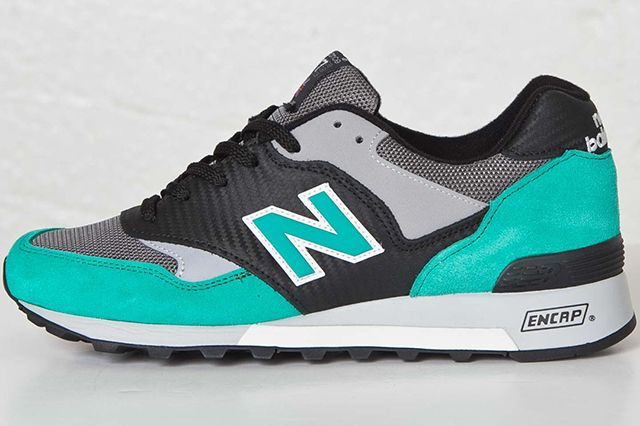 New Balance 577 Carbon Fiber Blackturquoise