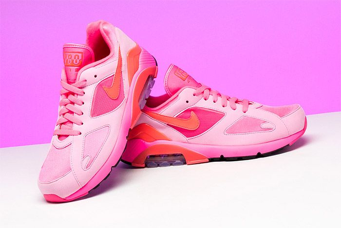 Comme Des Garcons Nike Air 180 Pink 3
