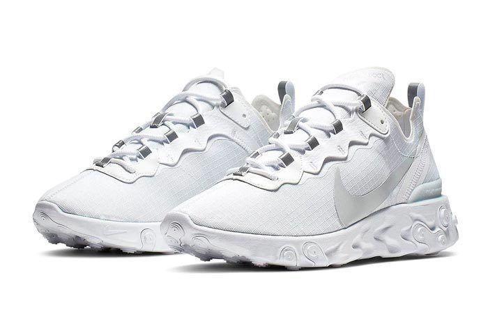 Nike React Element Pure Platinum Pair