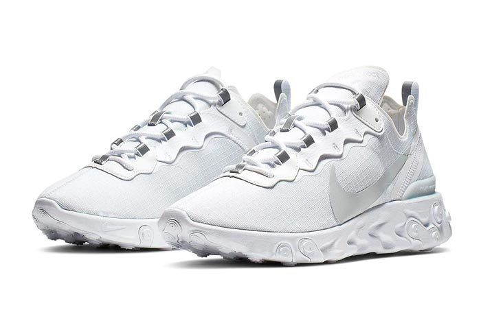 Nike React Element Pure Platinum Pair