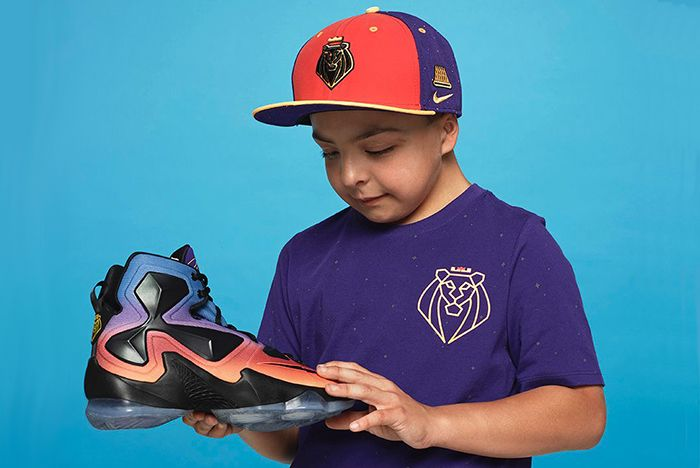 Nike Lebron 13 Doernbecher Freestyle Collection 201510