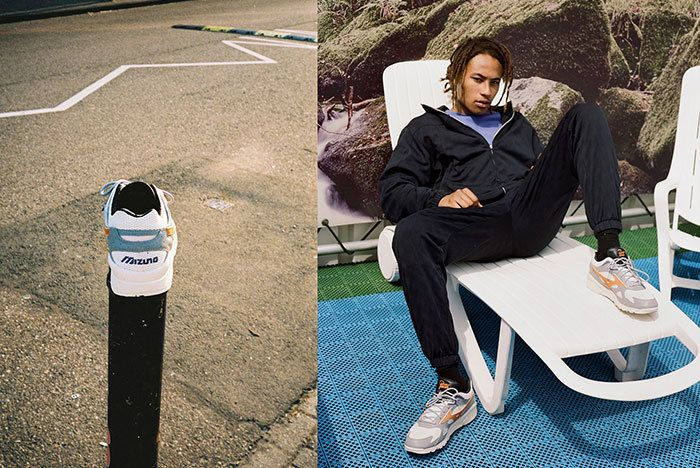 Patta Mizuno Sky Model Collab Lookbook 2 Sneaker Freaker1