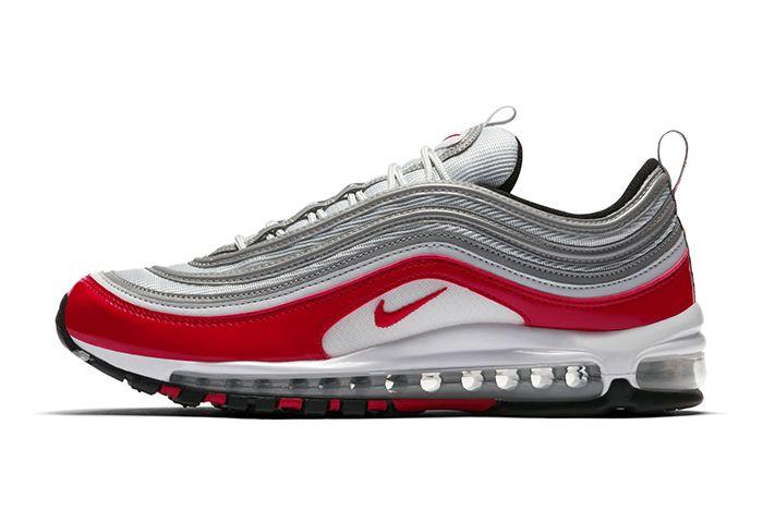 Nike Air Max 97 Silver Red 1