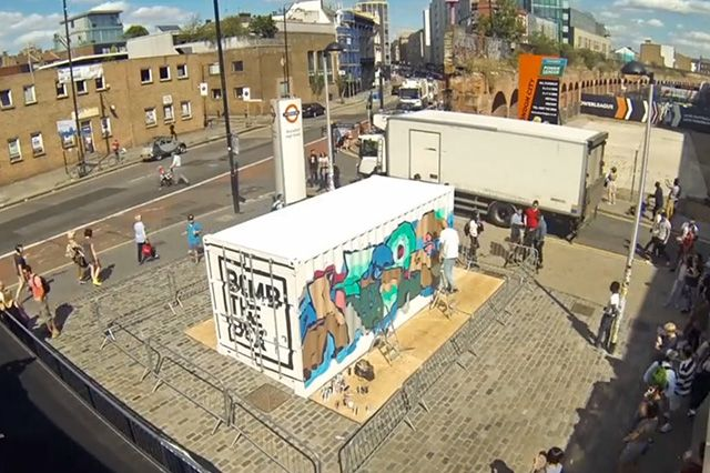 Boxpark Live Graffiti– Sobek Sicks Ha 4