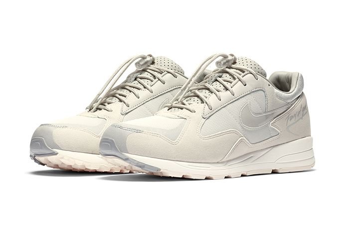 Fear Of God Nike Air Skylon Ii Light Bone Clear Reflect Silver Sail Bq2752 003 Release Date Pair