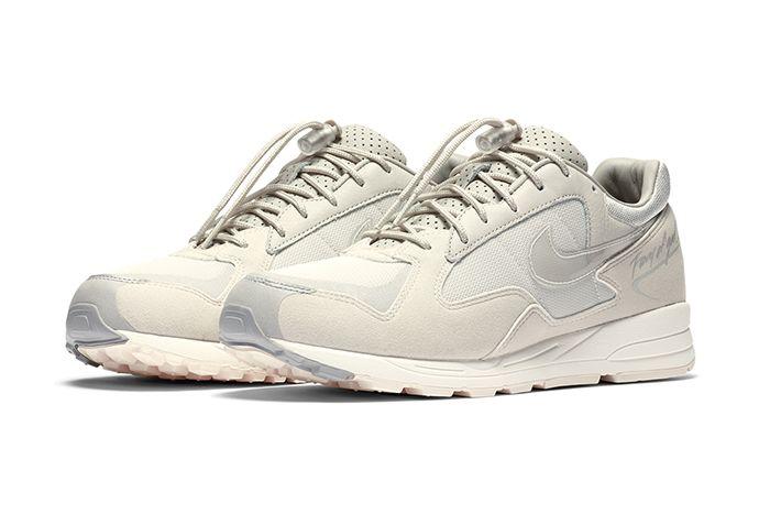 Fear Of God Nike Air Skylon Ii Light Bone Clear Reflect Silver Sail Bq2752 003 Release Date Pair