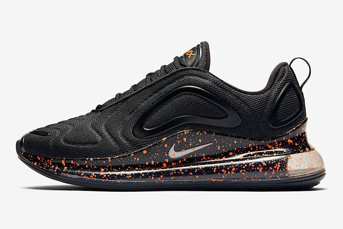 Nike Air Max 720 Black Speckle Left
