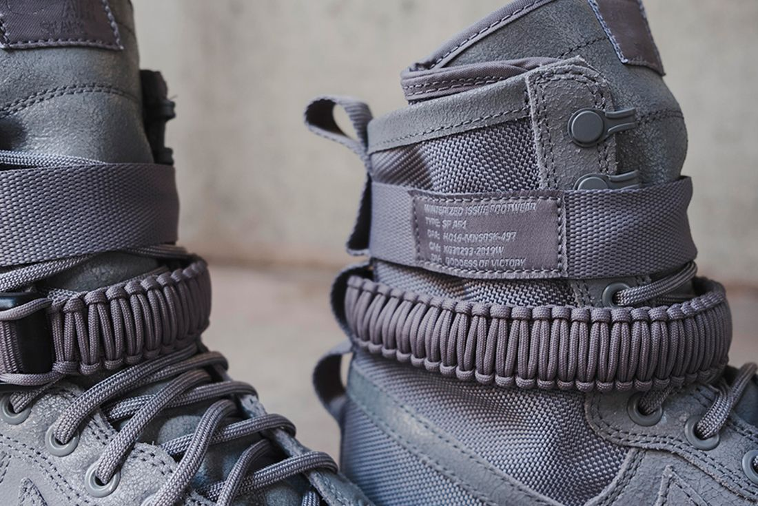 Nike Sf Air Force 1 Grey 9