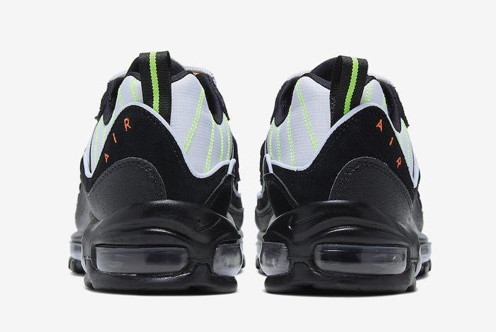 Nike Air Max 98 Neon Heels