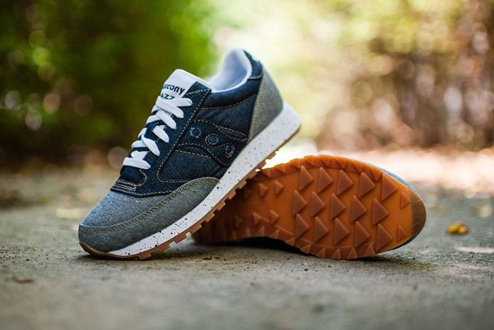 Saucony Jazz Original Dark Denim Gum 2
