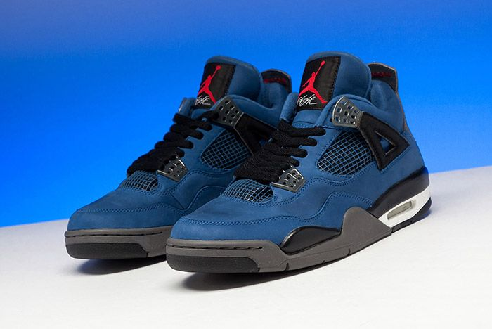 Eminem Jordan 4 Blue Release 2018 7