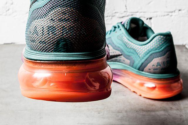 Nike Air Max 2014 Wmns Atomic Orange Bright Magenta Forrest Green