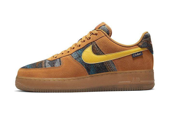 Pendleton Nike Air Force 1 Low N7 Cq7308 700 Release Date Lateral