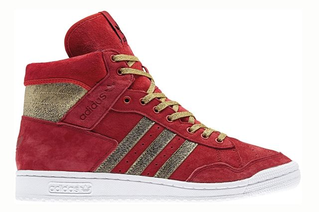 Adidas Originals Pro Conference Hi Year Of The Horse Red Profile