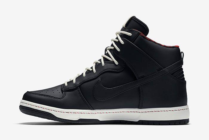 Nike Dunk Hi Black 3