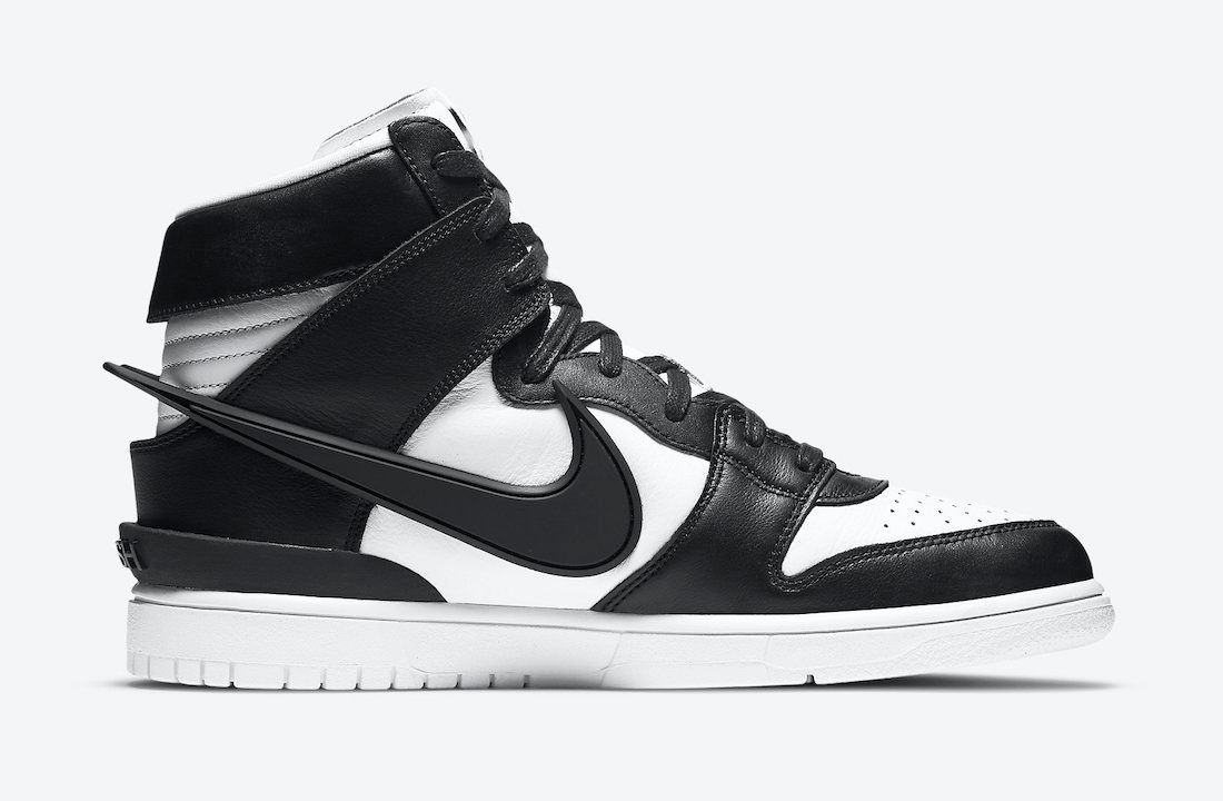 Release Details: AMBUSH x Nike Dunk High 'Black/White'