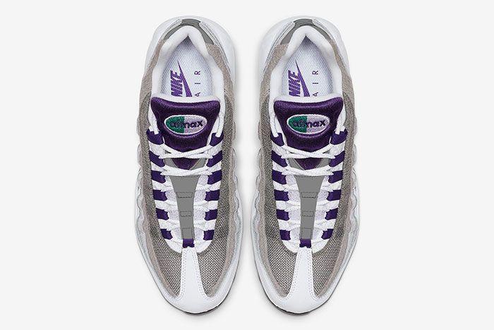 Nike Air Max 95 Grape Snakeskin Ao2450 101 Top