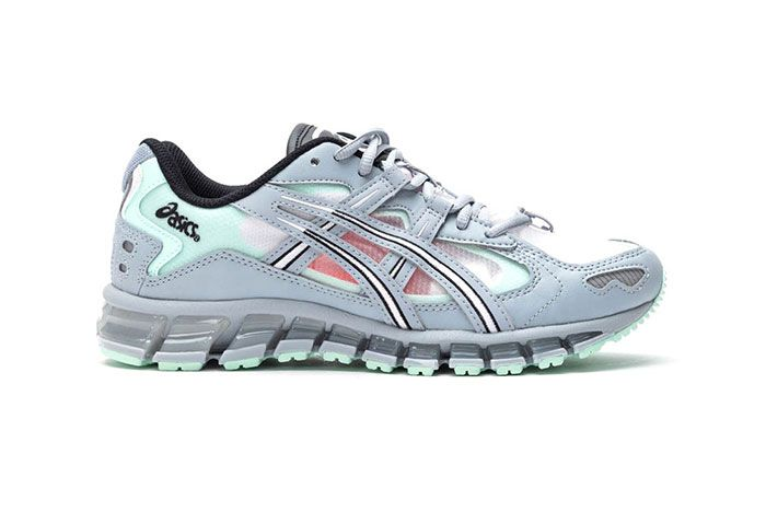 Asics Gel Kayano 5 360 Grey Mint Tint 1021A196 020 Lateral