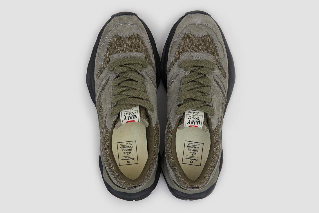 Nigel Cabourn x Mihara Yasuhiro Military Sneaker 'Swiss Green'