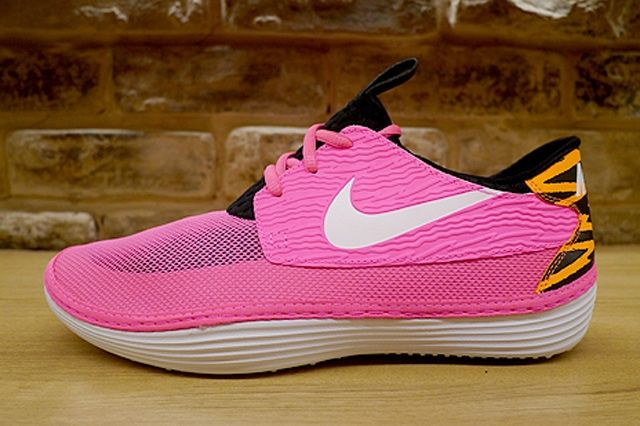 Nike Solarsoft Moccassin Pink Flash 1