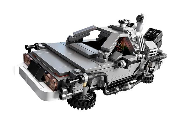 Lego Bttf Delorean Kit