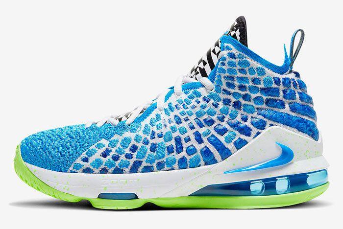 Nike Lebron 17 Photo Blue Left