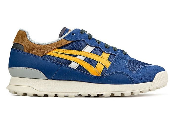 Onitsuka Tiger Horizonia Blue Side Shot 3