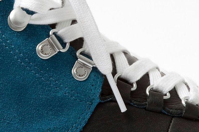 Lacoste Bruton Blue Black Laces 1