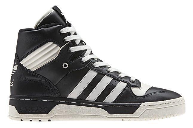 Adidas Originals Rivalry Pack Hi Blk Wht Profile 1