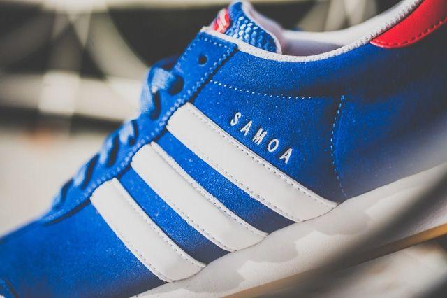 Adidas Samoa Red Blue Gum 3
