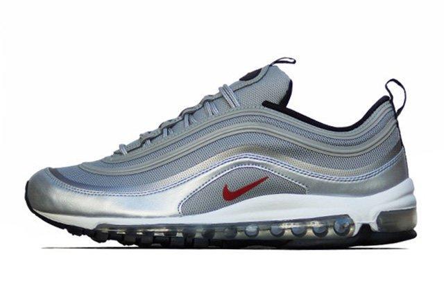 Nike Air Max 97 Premium Tap Qs Silver Bullet 2