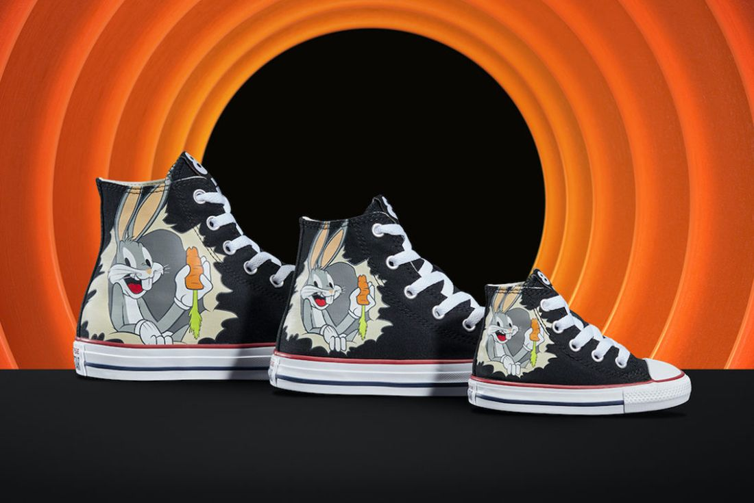 Converse's Latest Collection Celebrates Bugs Bunny's 80th Birthday ...