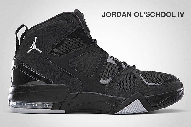 Jordan Ol School Iv Black 1