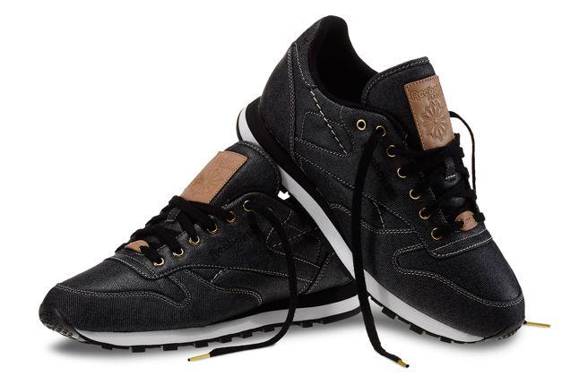 Reebok Classic Leather Denim Pair 1