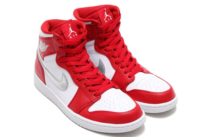 Air Jordan 1 High Redsilverwhite2