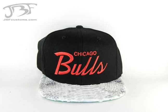 Jbf Custom Cap Chicago Bulls 1 1