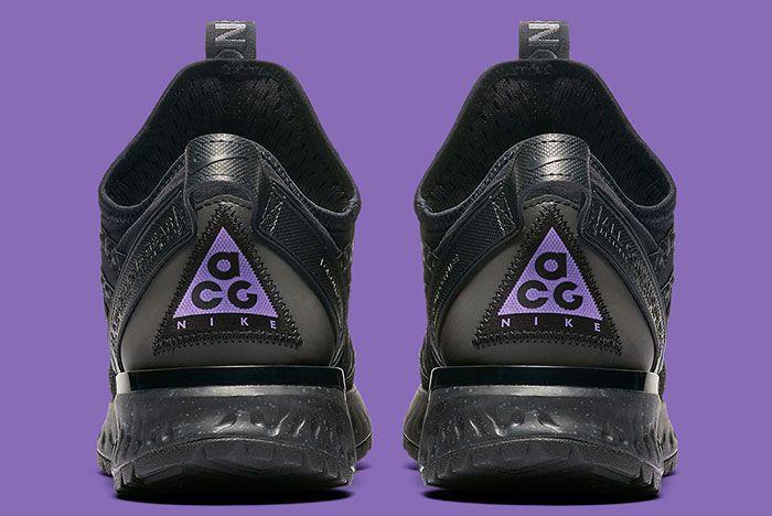 Nike Acg React Terra Gobe Black Purple Bv6344 001 Heels