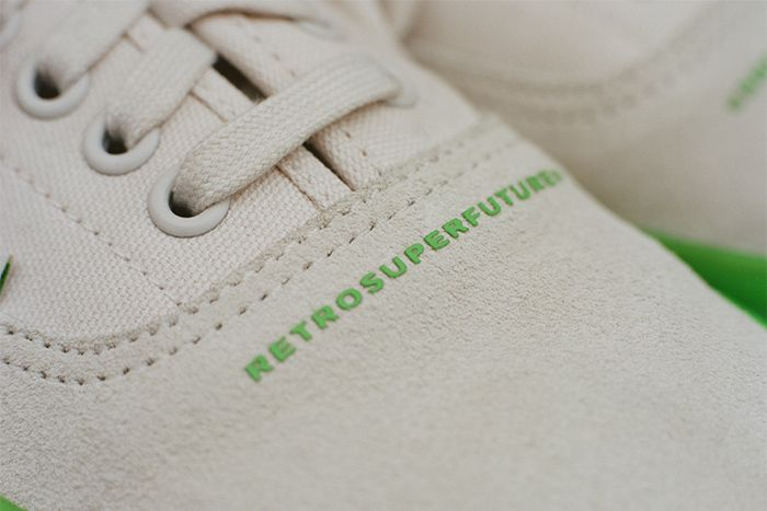 Retrosuperfuture Vans Vault Og Style 43 Lx Green Release Date Closeup