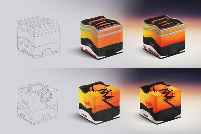 Nolbert Nike Sneakercube Plans