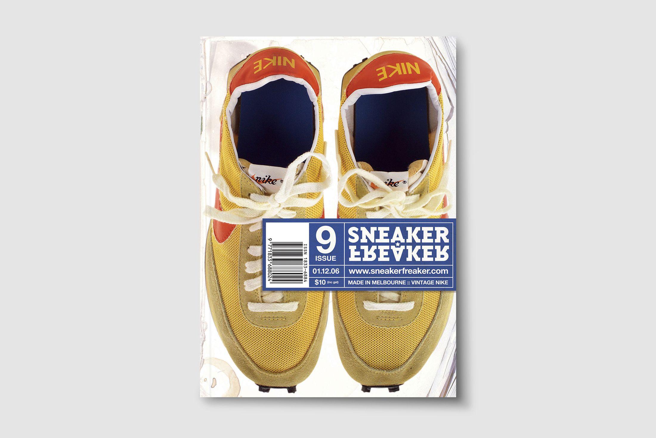 Sneaker Freaker Issues 1-10