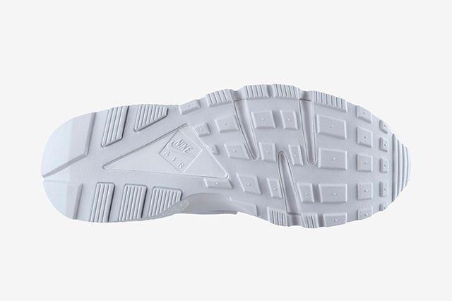Nike Air Huarache Triple White 2