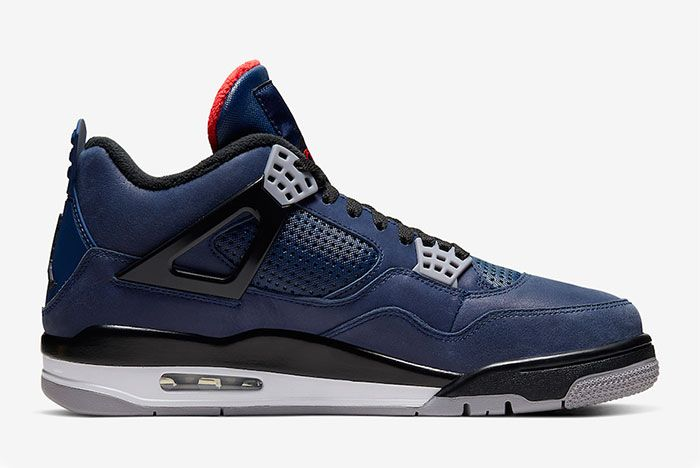 Air Jordan 4 Wntr Winter Loyal Blue Right