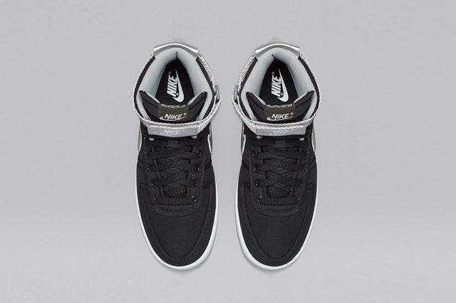 Nikelab Vandal High Black Silver 2